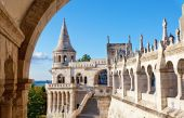 Fisherman Bastion, Budapest — Stock Photo