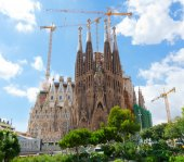Basilica of La Sagrada Familia — Stock Photo