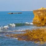 Rocky coast in Atlantic Ocean — Stock Photo #62941823