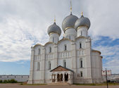 Assumption Cathedral domes — Stock Photo
