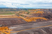 Landscape with extractive industry — Stock Photo