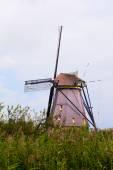 Windmill in Kinderdijk, Netherlands — Stock Photo