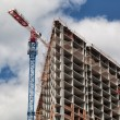 Crane works at construction — Stock Photo #72048749