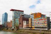 Nowoczesna architektura w Düsseldorf — Zdjęcie stockowe