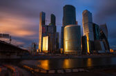 The Moscow International Business Center — Stock Photo
