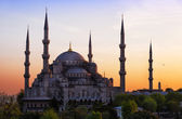 Sultan-Ahmed-Moschee in Istanbul — Stockfoto