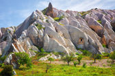 Landscape with rocks unusual a form — Stock Photo