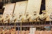 Ювелирные магазины на Понте Веккьо — Стоковое фото