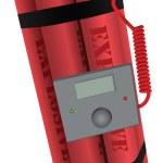 Explosives digital fuse — Stock Vector #53584217