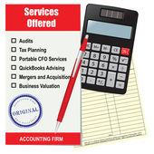 Accounting firm services — Vecteur
