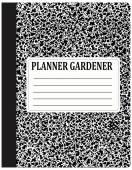 Planner gardener  — Stok Vektör