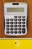 Calculator for simple calculations — Stock Photo