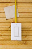 Sheet of paper for the wiring — Stock Photo