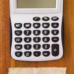 Electronic calculator — Stock Photo #63357369
