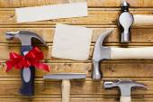 Conjunto diverso de martillos — Foto de Stock
