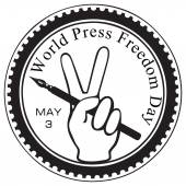 World Press Freedom Day — Stock Vector