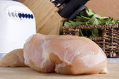 Raw chicken white meat — Stock Photo