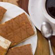 Cup of coffee and biscuits — 图库照片 #77606608