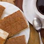 taza de café y galletas — Foto de Stock   #77606608