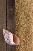Bakgrund med sandstrand — Stockfoto