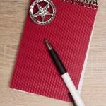 Police notebook — Stock Photo #79646116