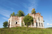 Ruins of old orthodox church — Stock Photo