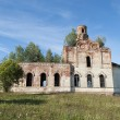 Destroyed old orthodox church — Stock Photo #54766573