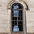 Big window of old orthodox church — Stock Photo #54766575
