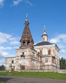 Spasoobydennaya church in Solvychegodsk — Fotografia Stock