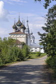 Old village Pistsovo in Middle Russia — Stock Photo