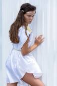 Young Greek woman — Stock Photo