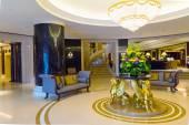 Hotel halls — Stock Photo