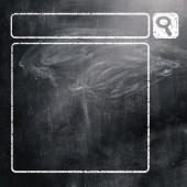 Chalkboard with seacrh engine — Stock Photo