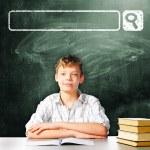 School boy — Stock Photo #54930081