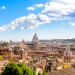 Rome and St. Peters Basilica — Stock Photo #55363765