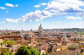 Rome and St. Peters Basilica — Stock Photo
