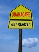 Obamacare get ready conceptual post — Stock Photo