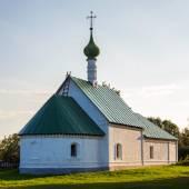 Kideksha. Russia. Church of St. Archdeacon Stefan. Built in 1780 — Stock Photo
