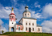 Prophet Elijah's Church, Suzdal, Russia — Stock Photo