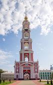 Russia. Tambov. Bell Tower of Kazan Monastery — Stock Photo