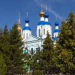 Russia. Tambov city. Cathedral of Kazan Monastery — Stock Photo #68173607