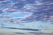 Cirrus clouds in blue sky — Stock Photo