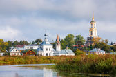Cityscape Suzdal. Russia — Stock Photo