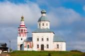 苏兹达尔、 俄罗斯先知以利亚教堂 — 图库照片