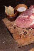 Fresh pork — Stock Photo