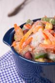 Mražená zelenina — Stock fotografie