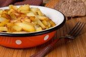 炸的土豆 — 图库照片
