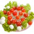 "Salad ""Fly agarics"" — Stock Photo #63597065"