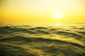 Sunrise over the sea — Stock Photo