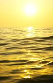 Salida del sol sobre el mar — Foto de Stock